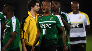 Finalistes de la dernière CAN, André Ayew et les Black Stars affrontent ce mardi l'Ouganda.