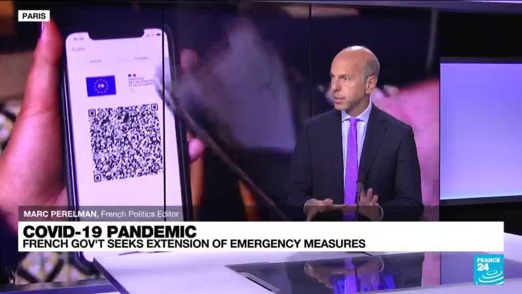 2021-10-13 14:01 Coronavirus pandemic: French govt seeks extension of emergency measures