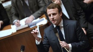 Emmanuel Macron's proposals are unpopular with the ruling Socialists