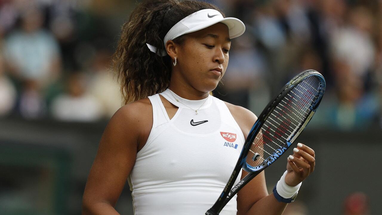 PHOTO Naomi Osaka - Wimbledon - 1er juillet 2019