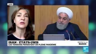 2020-04-24 09:11 L'Iran lance un satellite militaire, sur fond de nouvelle escalade avec Washington