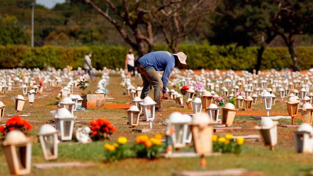 BRASIL CEMENTERIO 525 MIL MUERTES