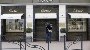 """محل """"كارتييه"""" في كان"""