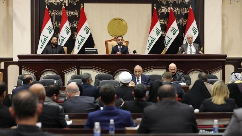 جلسة البرلمان العراقية الاستثنائية في 5 يناير/ كانون الثاني 2020.