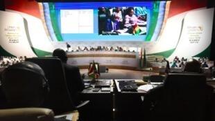 Sommet de l'Union africaine, le 5 juillet 2019 à Niamey, au Niger