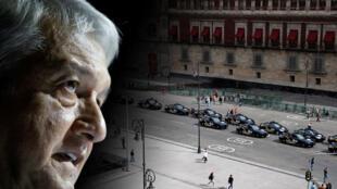 Palacio Nacional, antes de que el presidente electo de México, Andrés Manuel López Obrador, juramente en el Congreso en la Ciudad de México, México, 29 de noviembre de 2018.