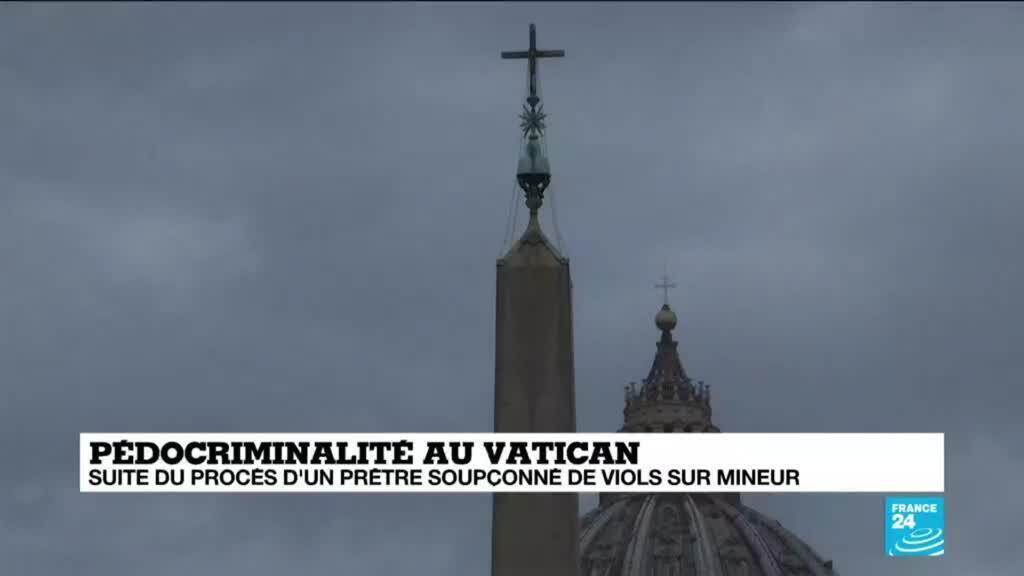 2021-02-24 13:11 Pédocriminalité au Vatican : procès d'un prêtre soupçonné de viols sur mineurs