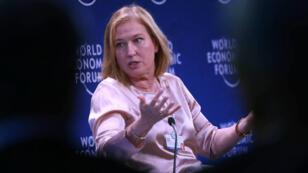 L'ancienne ministre israélienne des Affaires étrangères, Tzipi Livni, lors du Forum économique mondial, en Jordanie, en mai 2017.