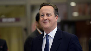Le Premier ministre britannique David Cameron, à Bruxelles, le vendredi 19 février 2016.