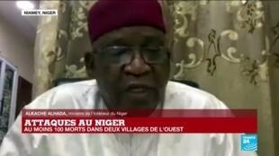 2021-01-04 17:04 Attaques au Niger : le ministre de l'Intérieur Alkache Alhada fait un point sécuritaire