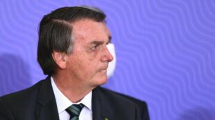 Le président brésilien Jair Bolsonaro, le 16 décembre 2020 à Brasilia