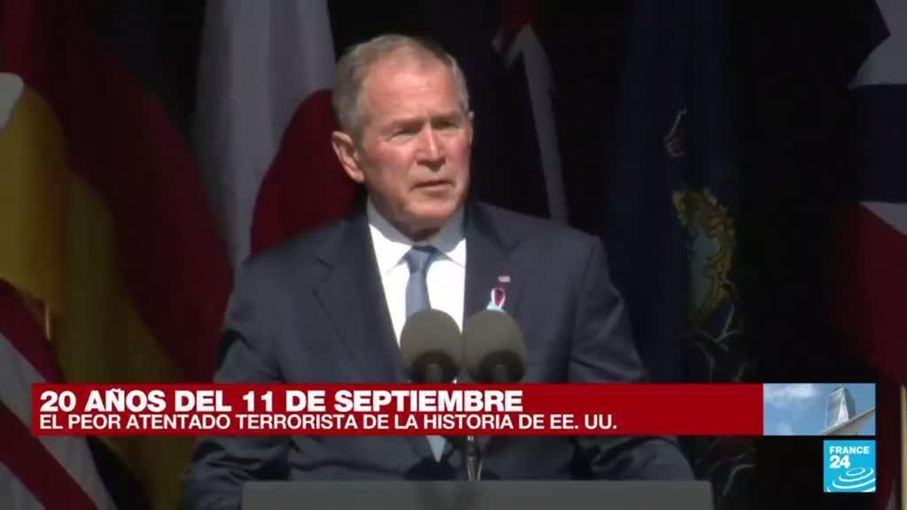 """2021-09-11 16:47 George W. Bush sobre el 11-S: """"Me enorgullece haber dirigido a un pueblo resiliente"""""""