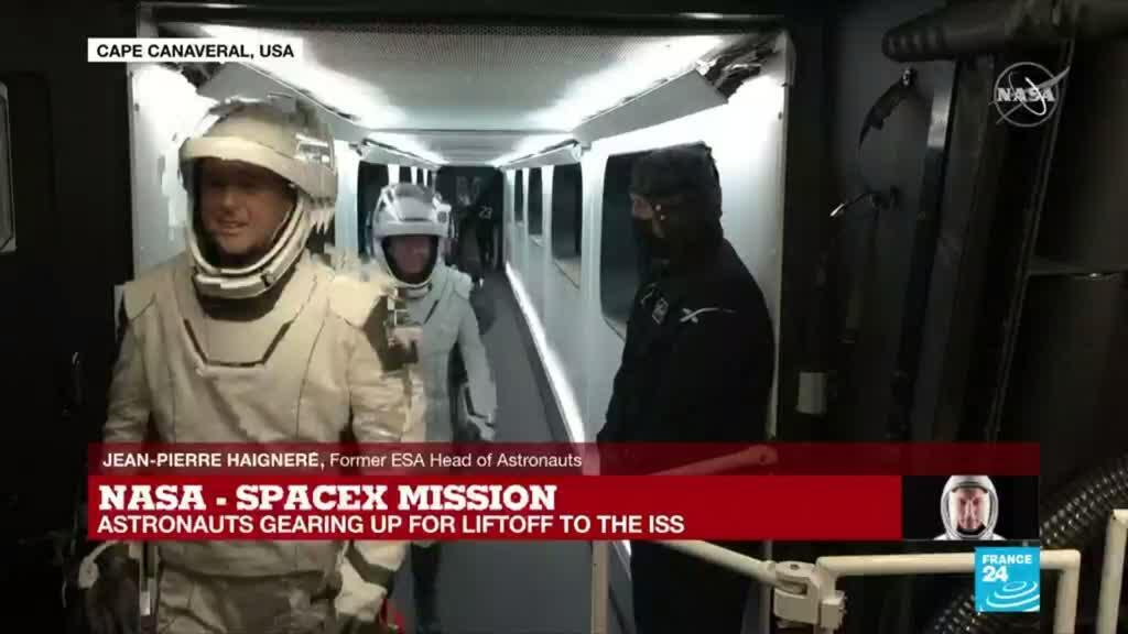 2021-04-23 08:56 'Nobody can take my place now': veteran astronaut describes feeling of blasting into space