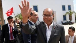 الرئيس التونسي السابق منصف المرزوقي