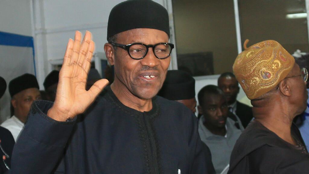 Le président nouvellement élu, Muhammadu Buhari, le 1er avril à Abuja.