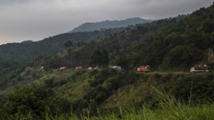Le parc naturel des Virunga, en juillet 2016.