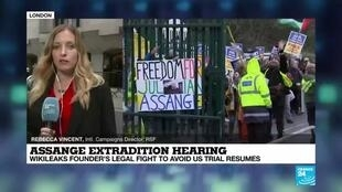 2020-09-07 18:21 Assange Extradition Hearing: Wikileaks Founder's Legal FIght to Avoid US Trial Resumes