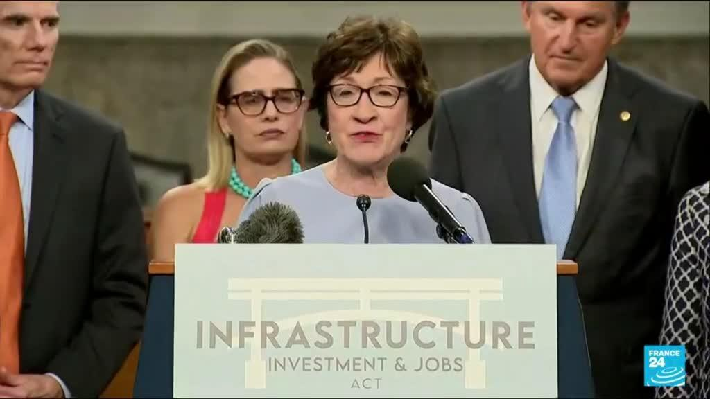 2021-07-29 13:06 US Senate votes to advance huge infrastructure bill