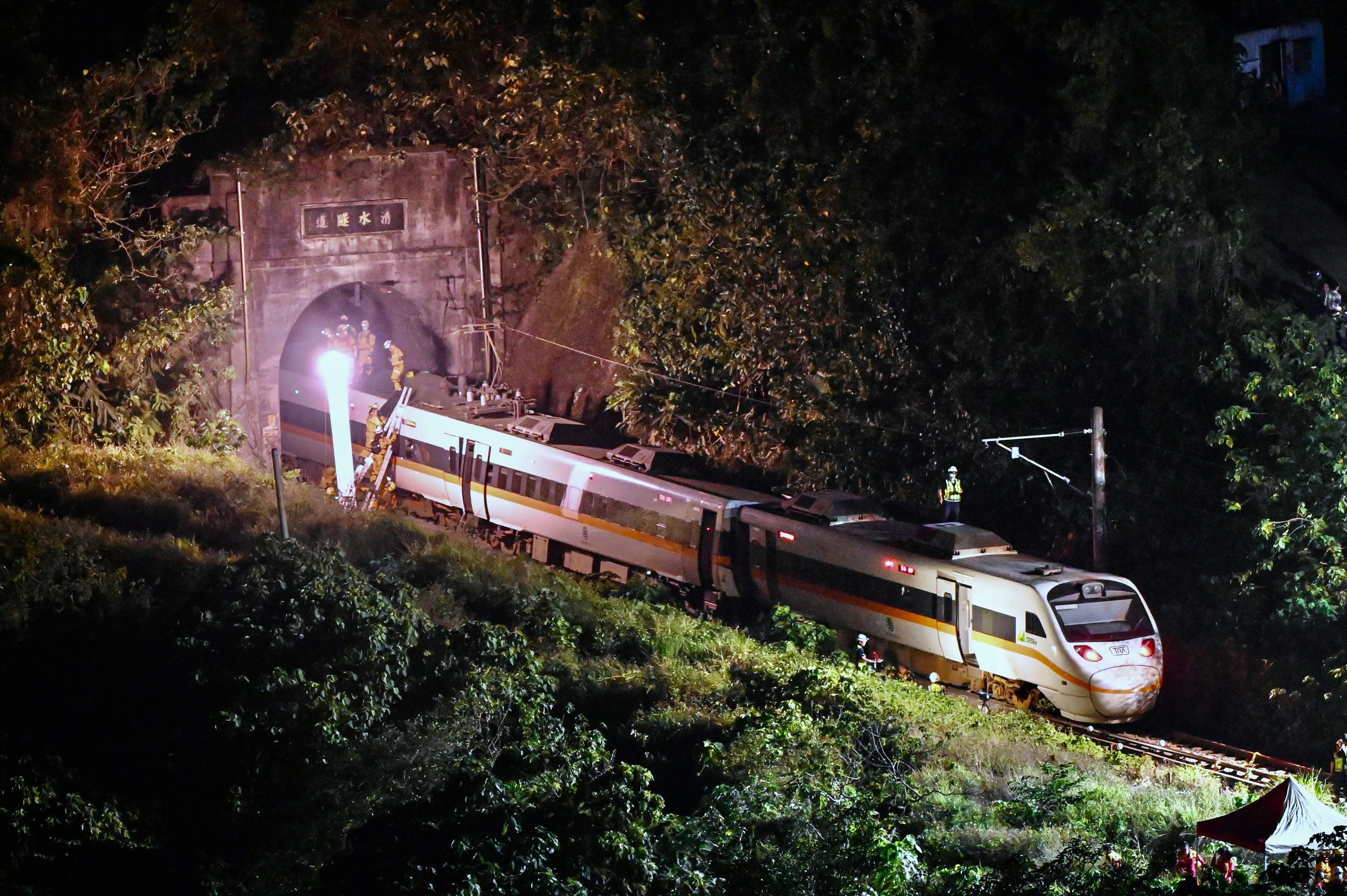 At least 50 people were killed in Taiwan's worst rail disaster in decades