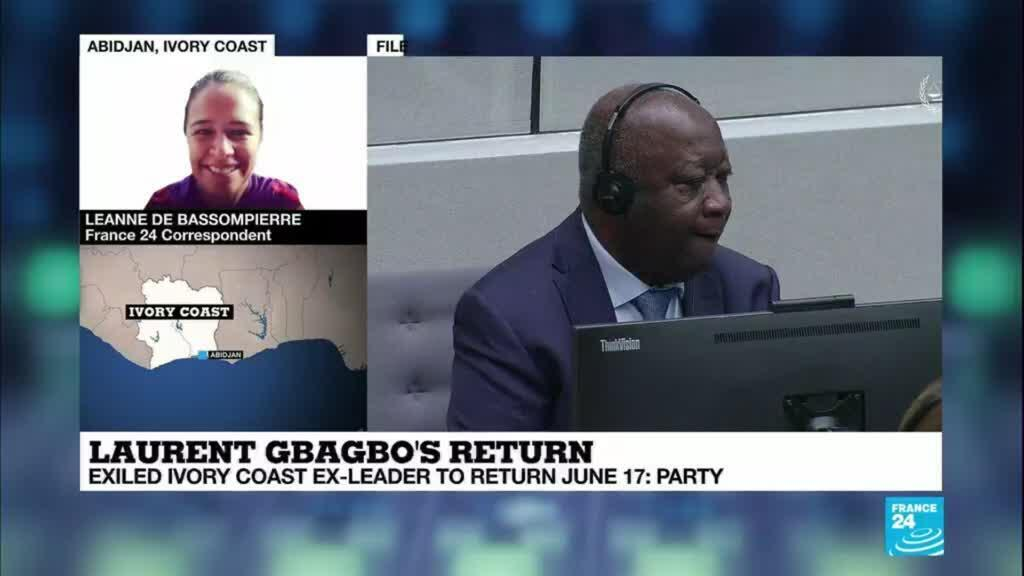 2021-06-01 09:35 Exiled ICoast ex-leader Gbagbo to return June 17