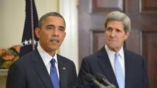 Barack Obama et John Kerry