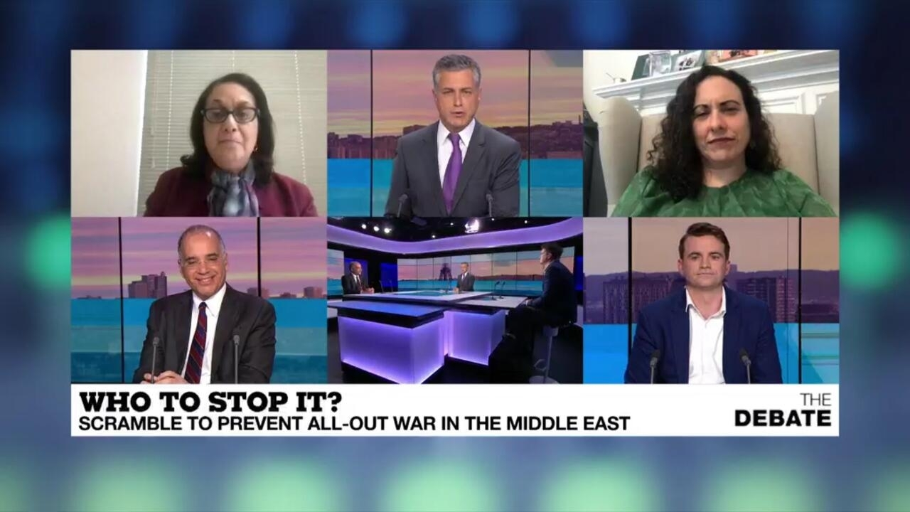 The Debate - Who to stop it? Scramble to prevent all-out war in the Middle East