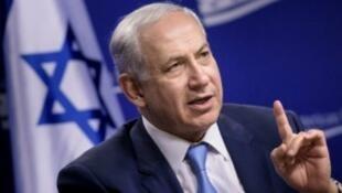 رئيس الحكومة الإسرائيلية بنيامين نتانياهو