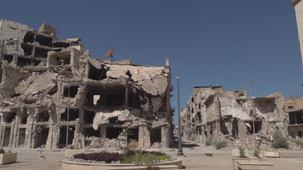 EN NW PKG FOCUS 1115 LIBYA BENGHAZI RECONSTRUCTION NO MIX,Video Mixdown,7