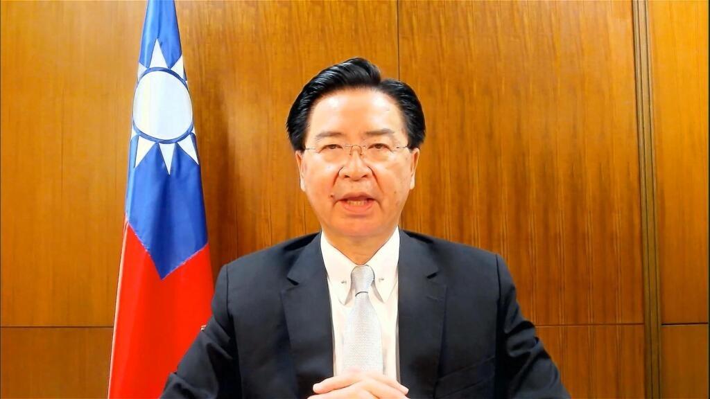 """""""La Chine a intensifié ses menaces militaires"""", alerte le chef de la diplomatie taïwanaise"""