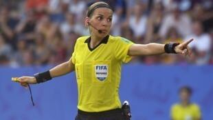 ستيفاني فرابار خلال ربع نهائي مونديال السيدات بين ألمانيا والسويد في رين. 29 يونيو/حزيران 2019.