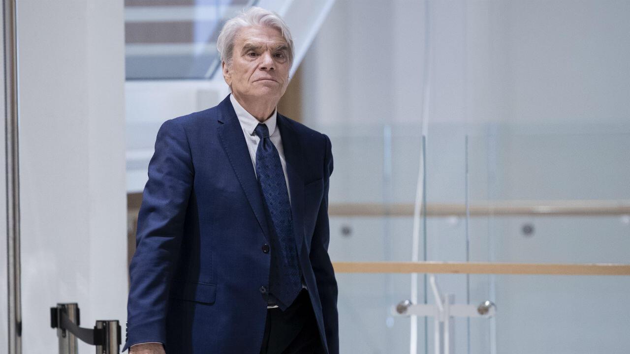 Bernard Tapie, le 21 mars 2019, au tribunal de Paris.