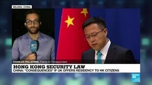 2020-07-02 14:13 China warns of 'counter-measures' as UK offers residency to Hong Kong citizens over security law