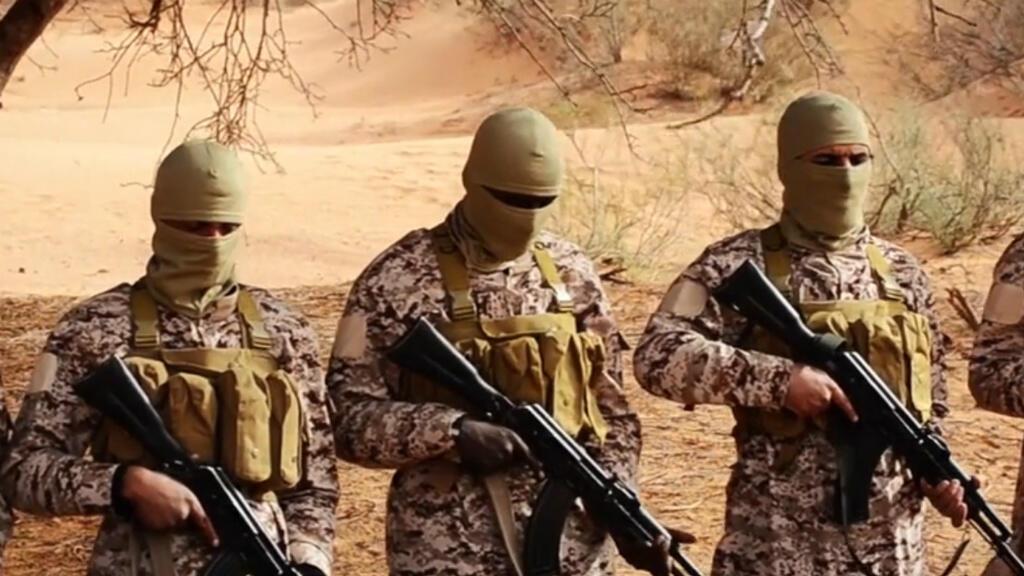 - عناصر من تنظيم الدولة الإسلامية في ليبيا