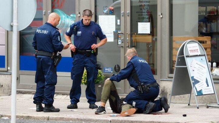 تدخل الأمن خلال اعتداء توركو