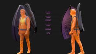 مهندس صيني يبتكر زيا في شكل أجنحة خفافيش للوقاية من فيروس كورونا