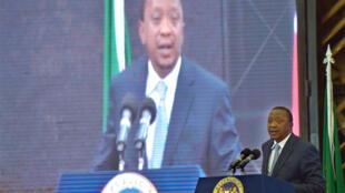 Pour la 3e fois, le procès du président Uhuru Kenyatta (photo) a été reporté.
