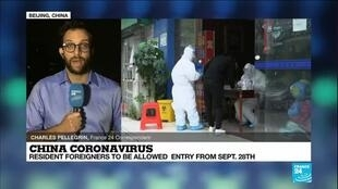 2020-09-23 15:06 Coronavirus pandemic: China to allow foreigners with valid residence permits to enter from Sept 28