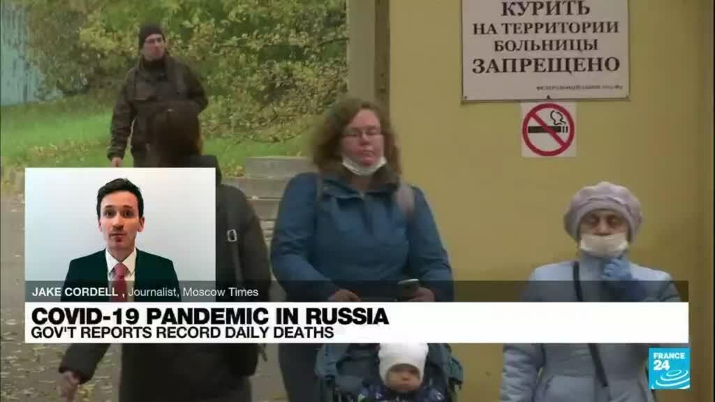 2021-10-06 09:42 Russia reports more than 900 Covid-19 deaths in 24 hours for first time