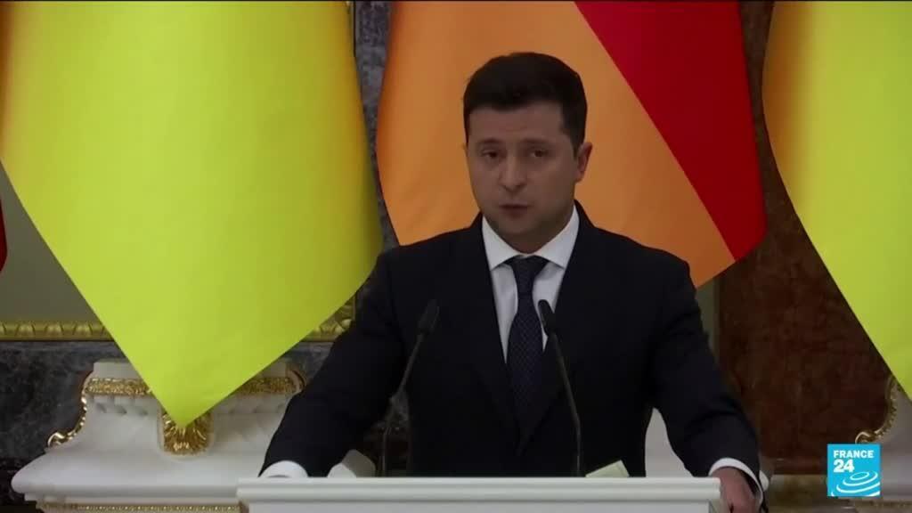2021-09-01 11:10 Nord Stream 2 pipeline 'dangerous geopolitical weapon' said Ukraine