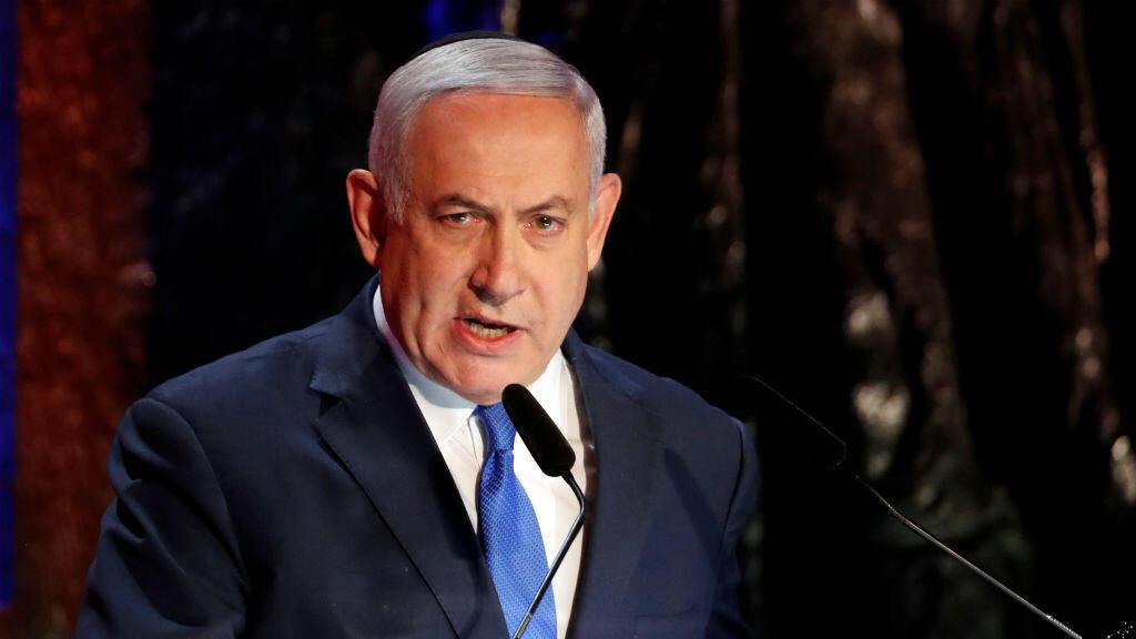 El primer ministro de Israel, Benjamin Netanyahu, advirtió que la campaña sobre Gaza no ha terminado pese a la tregua tácita en la zona fronteriza. Imagen tomada en Jeruslaén, el 1 de mayo de 2019.