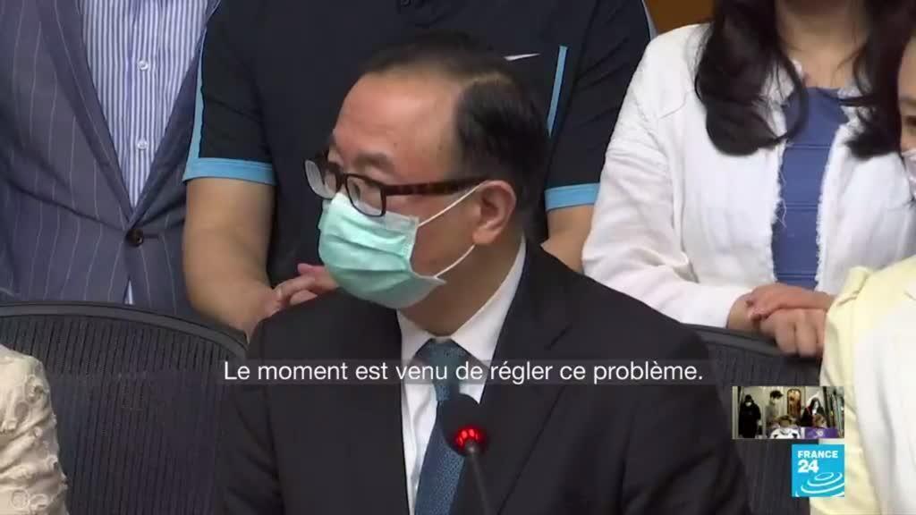 2020-05-22 16:06 Crise Pékin - Hong Kong : La Chine veut imposer une loi sur la sécurité nationale