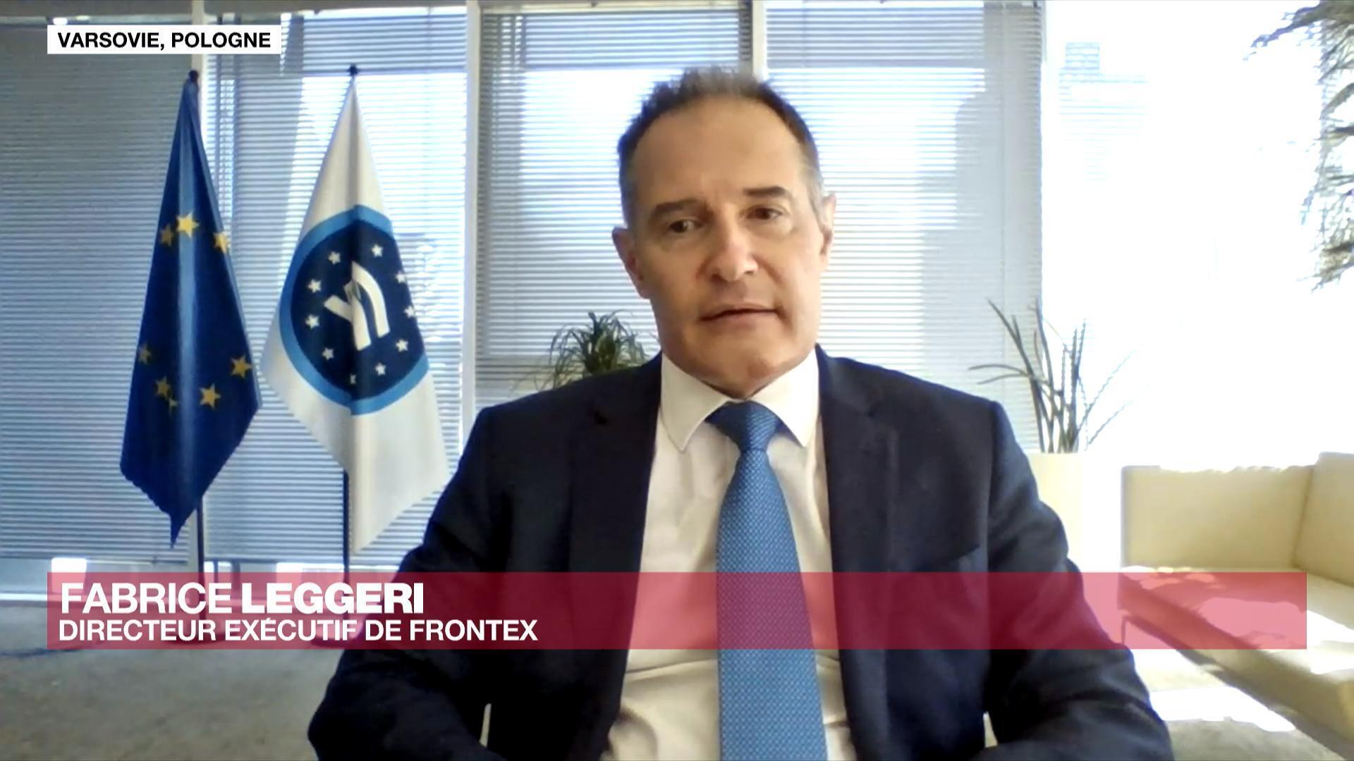 Fabrice Leggeri, directeur exécutif de Frontex
