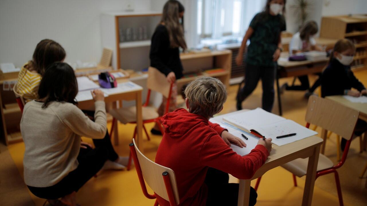 PHOTO Classe école primaire dans la Manche - 23 septembre 2021