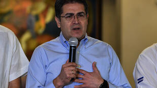 Dozens of civil society organizations in Honduras have demanded that President Juan Orlando Hernandez resign, accusing him of turning the country into a 'narco-state'