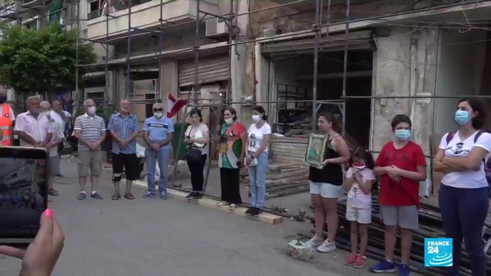 Dans la double explosion survenue le 4 août dans le port de Beyrouth, des dizaines de milliers d'habitants de la capitale libanaise ont perdu leur logement.