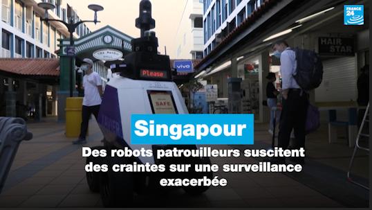 Singapour : des robots patrouilleurs suscitent des craintes sur une surveillance exacerbée