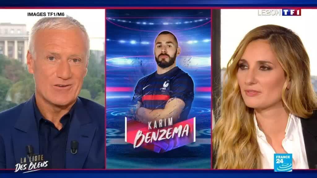 2021-05-18 21:04 Karim Benzema retrouve l'équipe de France, cinq ans et demi après sa dernière sélection - EURO-2021