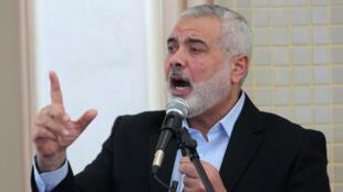 رئيس المكتب السياسي لحماس اسماعيل هنية