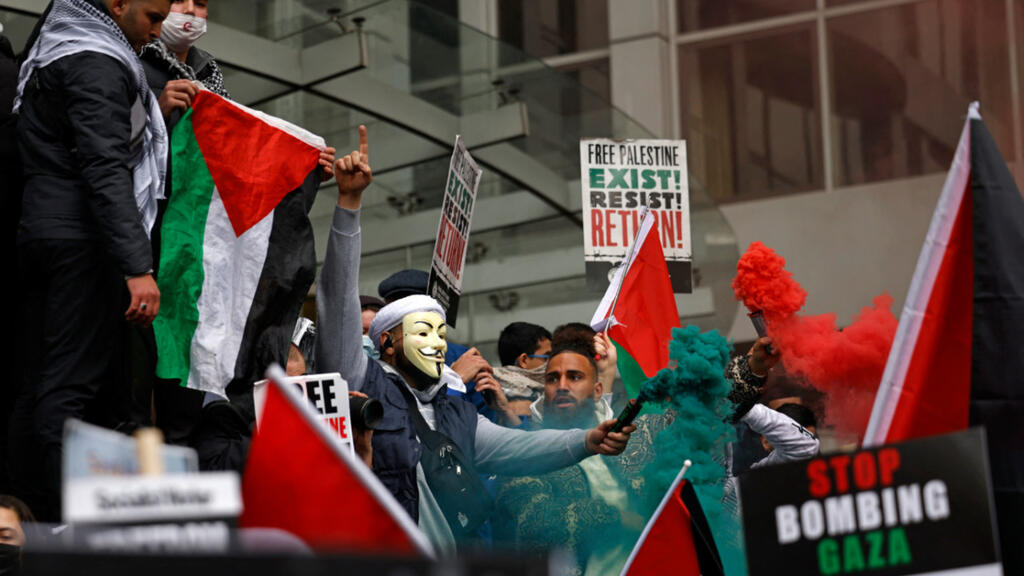 À Londres, Madrid, Tunis, Bagdad... De nombreuses manifestations en soutien au peuple palestinien