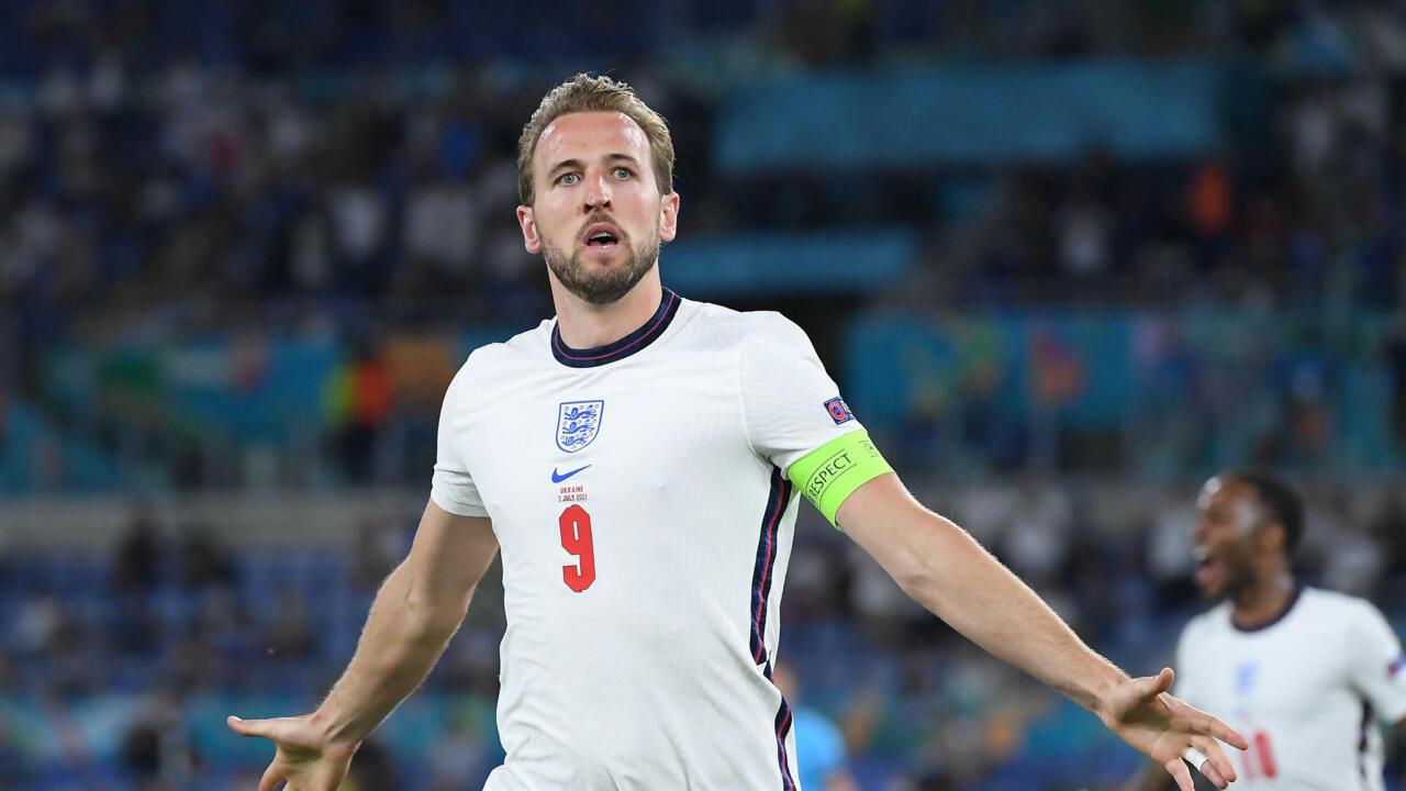 England thrash Ukraine 4-0 to face Denmark in Euro semi-final